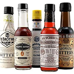 Unique client gifts: Aromatic Cocktail Bitters Collection