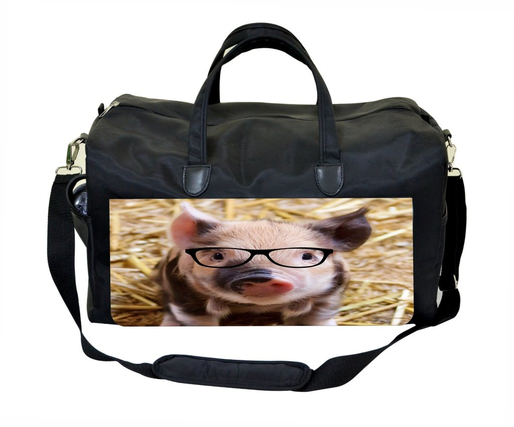 Pig with Glasses Therapist Bag