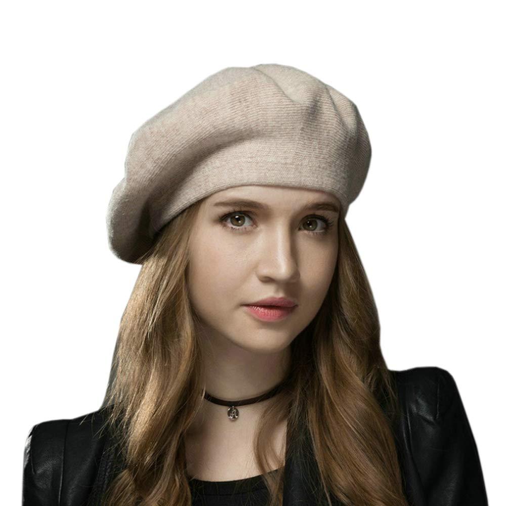 3c55af5ea1dcf Zoye Chen Womens Winter Beret Hat Cap