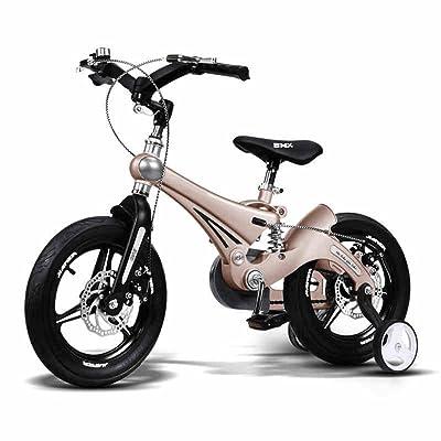DUO Vélos enfan Enfants vélo 12/14/16 pouces Landau Antichoc pour 2-8 ans Guidon pliable en alliage de magnésium