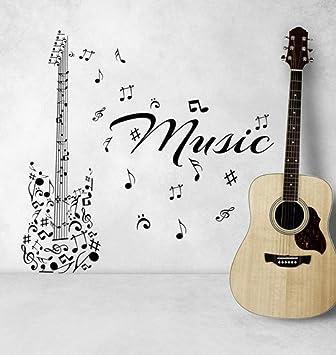 Fushoulu 45X45 Cm Serie Musical Arte Tatuajes De Pared Notas De ...