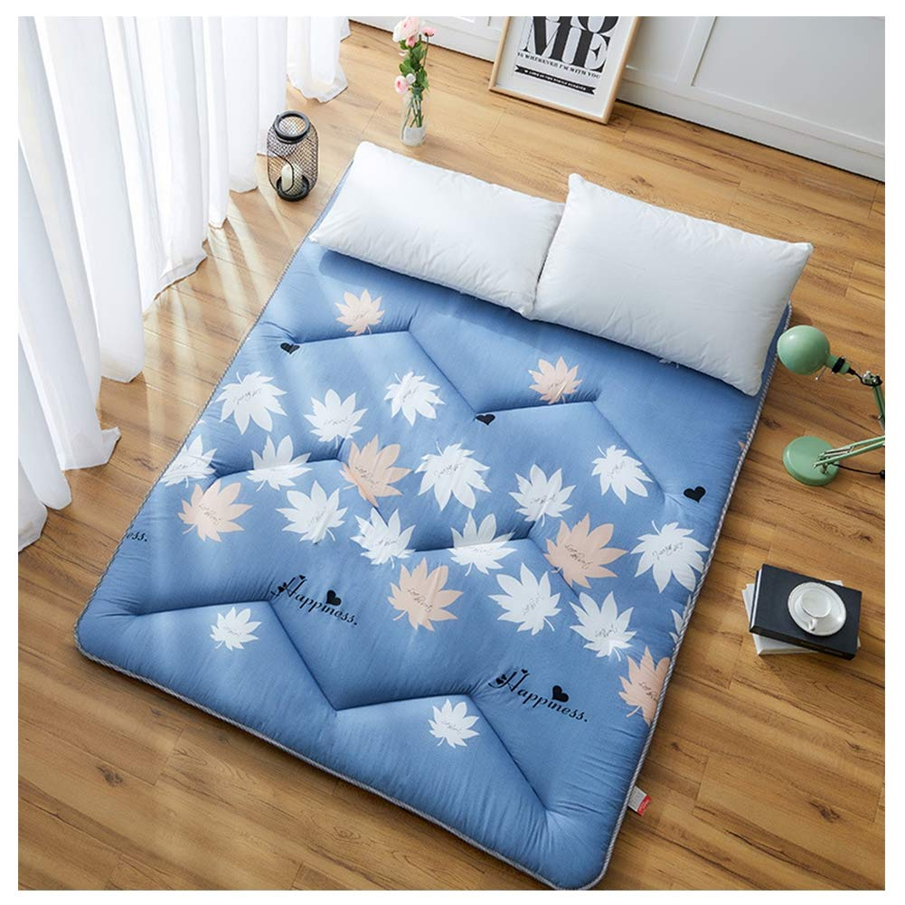 Mattress Student Dormitory Folding, Portable Thicken Pad Tatami Floor mat for Home Camping,A Variety of Styles to Choose from,K,180200/7179inch by Mattress