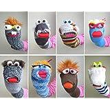 Favorit YOIL Fingerpuppen für Kinder Ctraetive Multifunktions-Socken MT83