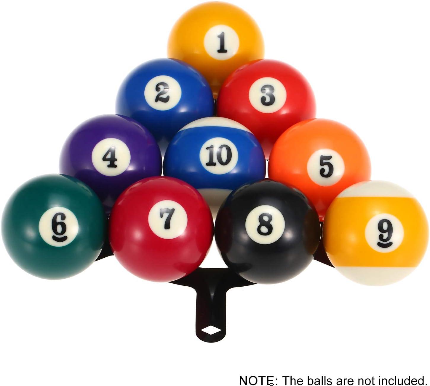 Ajcoflt 6 PCS Ball Rack Billar Rack Sheet Cue Ball Rack Cue Ball Accesorio: Amazon.es: Jardín