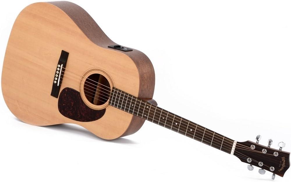 Western de guitarra Sigma JME con EQ y Pickup: Amazon.es ...
