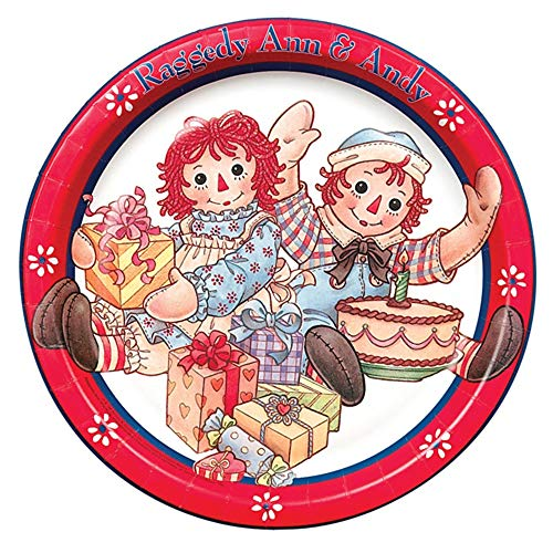 Raggedy Ann and Andy Large Paper Plates (8ct)]()