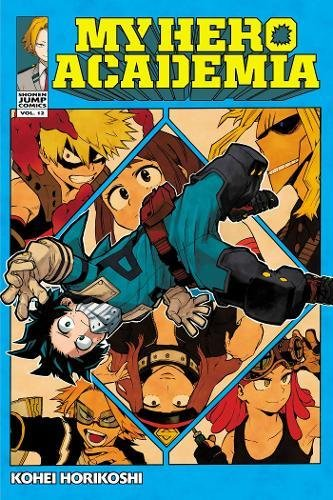 My Hero Academia, Vol. 12 cover