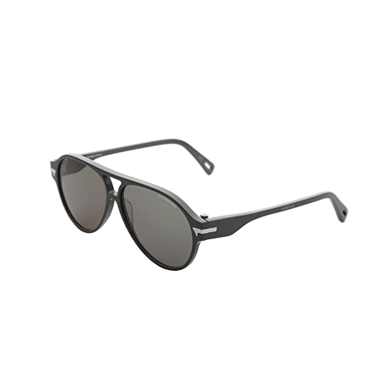 932fdffdfe G-Star Raw GS608S 035 Grey Thin Sniper Aviator Sunglasses Lens Category 3   Amazon.co.uk  Clothing