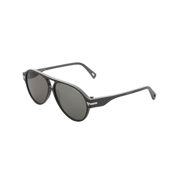 G-Star - Gafas de sol estilo aviator montura gruesa hombre caballero