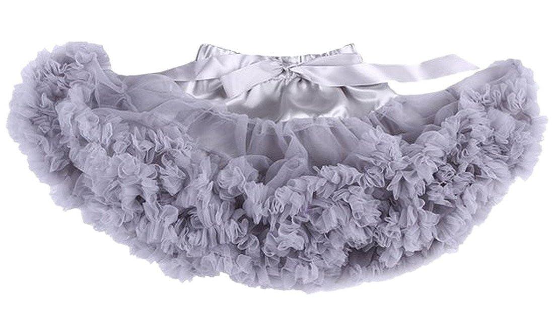 Happy cherry Falda de Princesa Disfraz Halloween Fiesta Tul Tutú Corto Falda de Ballet para 0-10 Años Bebés Niñas
