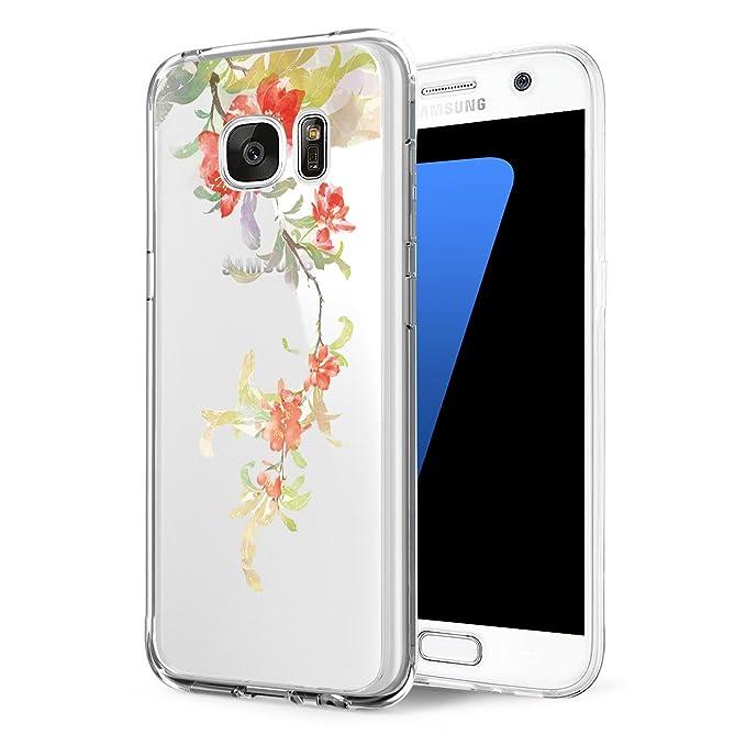 fc7aa03046c Funda Samsung Galaxy S6/S6 Edge/S6 Edge Plus Carcasa Silicona Transparent  Protector TPU