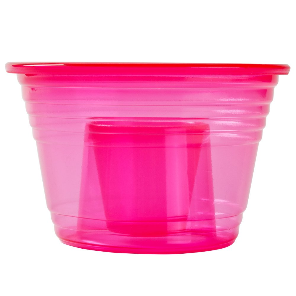 Fineline Quenchers 4112-RD Blaster Bomb Shot Cups / Power Bombs Neon Red - 25/Pack by Fine-line