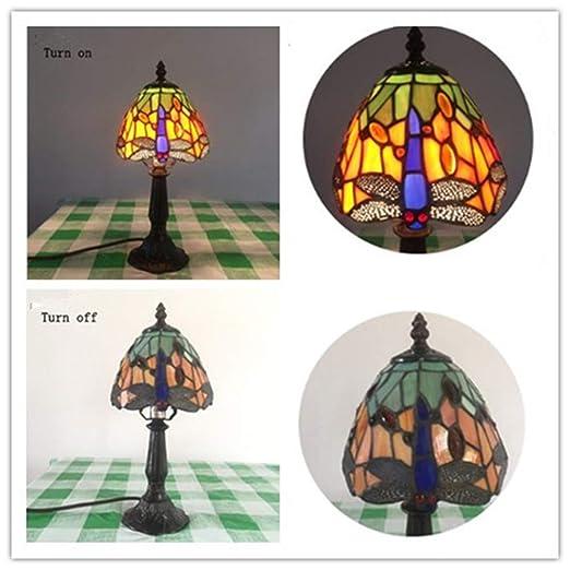 Barroco Tiffany de Mesa Lámparas JIAHE Estilo Iluminación R34Ac5jLq