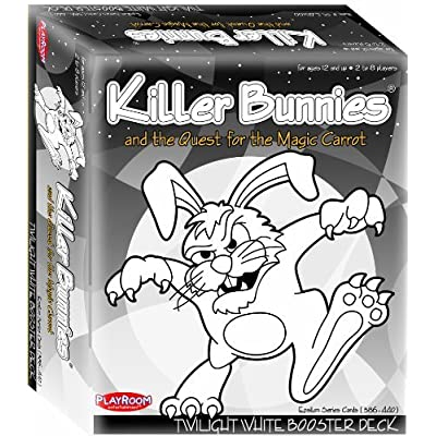 Playroom Entertainment Killer Bunnies Twilight White Booster: Toys & Games