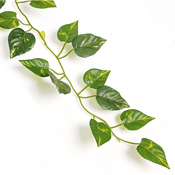 2m Artificial Ivy Leaf Rattan Vine Garland Plants Fake Foliage Flower Home Decor