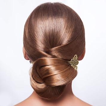 8 Stück geschnitzt Holz Styling Pins Haar Gabel DIY Haarschmuck für