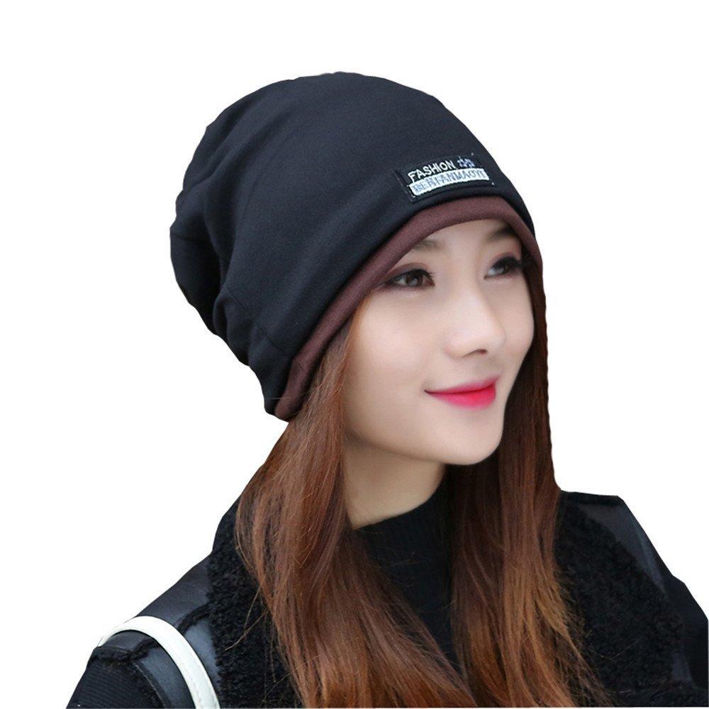 Baotou tapa de resorte cap confinamiento sección delgada de la moda masculina y femenina de verano coreano turbante hat 56cm-59cm,de algodón negro