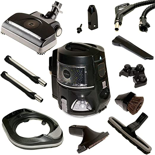 RAINBOW Un Juego de Accesorios de Herramienta para los aspiradores de Modelos de E2-12 Negro: Amazon.es: Hogar