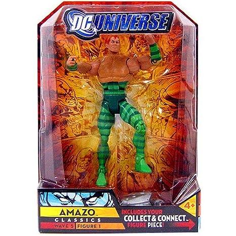 DC Universe Classics Series 5 Exclusive Action Figure Amazo Build Metallo  Piece!