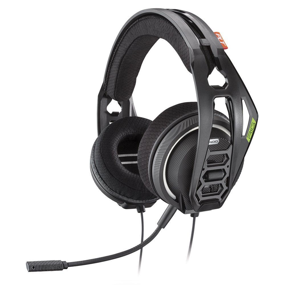 Plantronics Gaming Headset, RIG 400HX Stereo Gaming Headset for Xbox with Noise-Cancelling Mic and Performance Audio