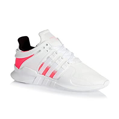 hot sales 7fe61 211a7 adidas Originals EQT Support Adv J White Textile 5 M US Big Kid
