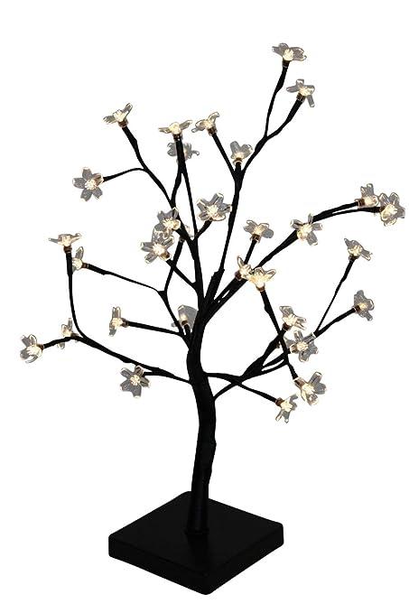 4839c27b5e5 Garden Market Place Árbol de cerezo bonsai iluminado de Navidad ...