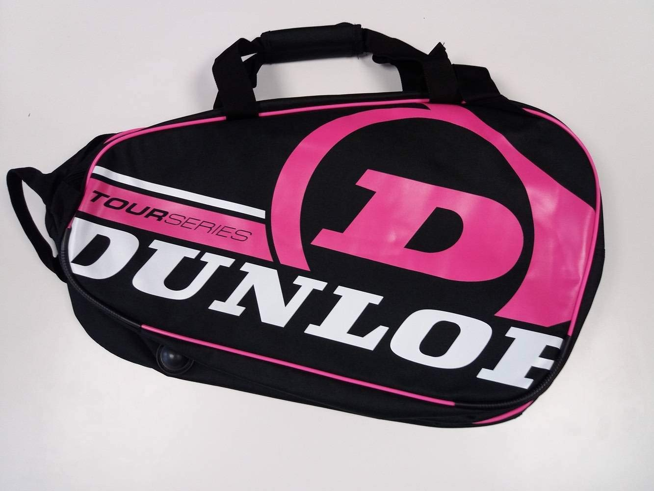 Paletero de pádel Dunlop Tour Intro Negro / Rosa: Amazon.es: Deportes y aire libre