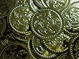 Belly Dance Dancing Accessory Costume Hip Scarf Belt XL Beads Coins Gold Metal (150 PCS) 413