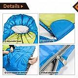 FUNDANGO Sleeping Bag Oversize Extreme Weather 26F 3C Warm Comfortable Sleeping Bags Great 4 Season Traveling Camping Hiking Outdoor Activities