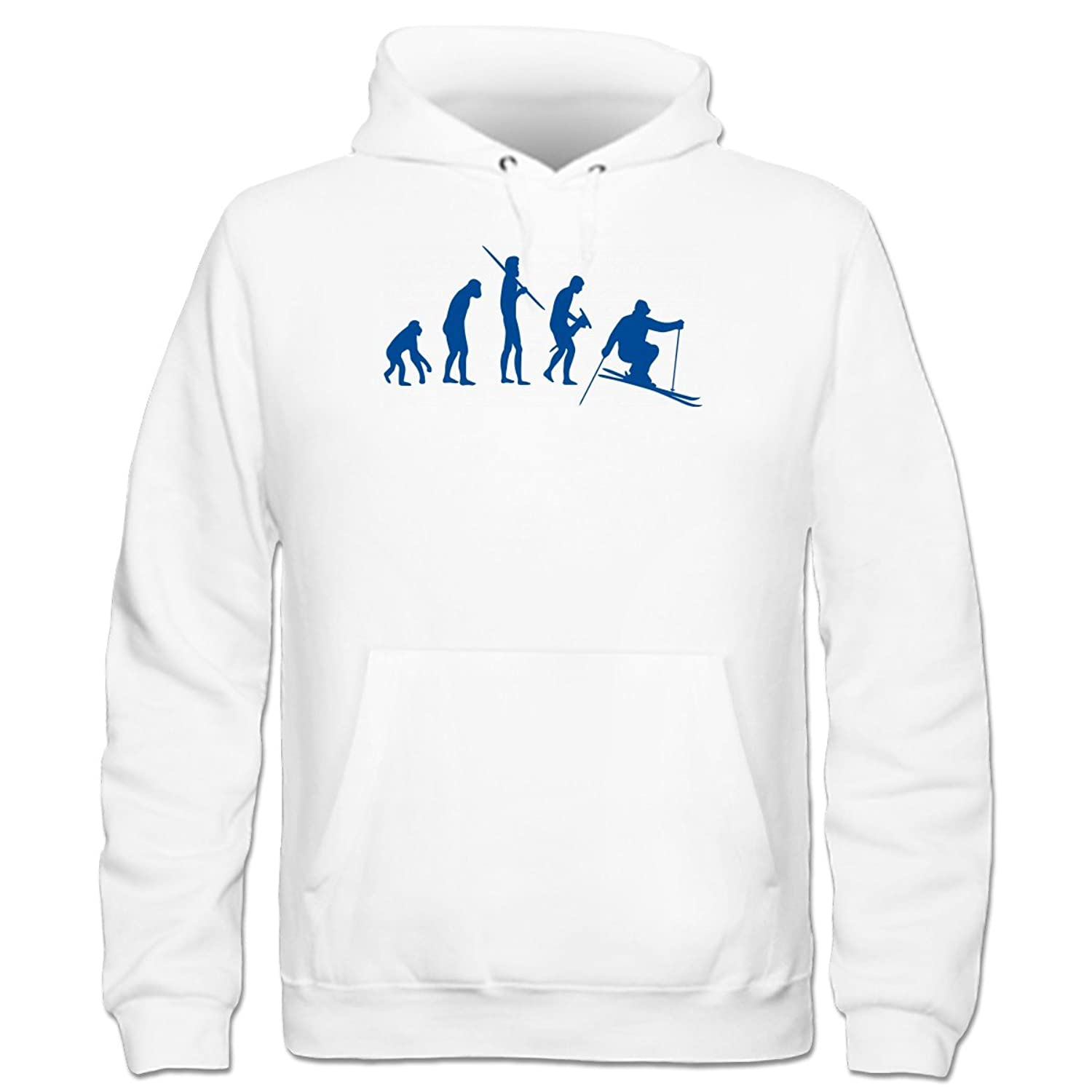 Ski Evolution Kinder Kapuzenpulli by Shirtcity