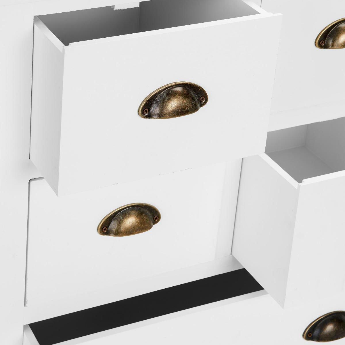 Butlers CAMPAGNE Apothekerschrank - Kommode Sideboard - 12 ...