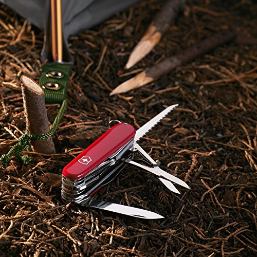 046928535019 - Victorinox Swiss Army SwissChamp Pocket Knife, Red carousel main 1