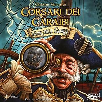 Asmodee Italia - Corsari dei Caraibi Mari Della Gloria - Juego de ...