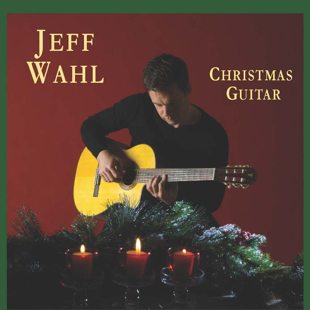 CD : Jeff Wahl - Christmas Guitar (CD)
