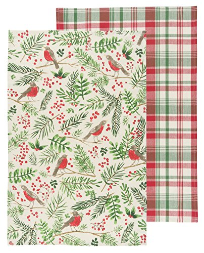 Now Designs Kitchen Dishtowel Wintersong