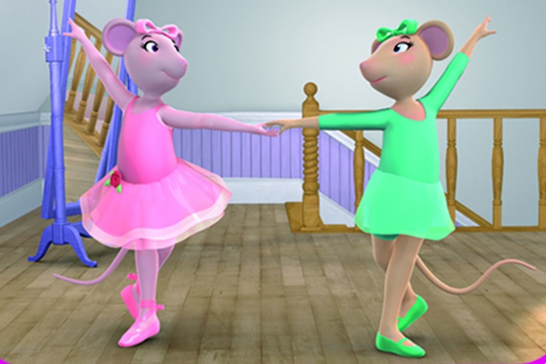 Amazon Angelina Ballerina Love To Dance Charlotte Spencer