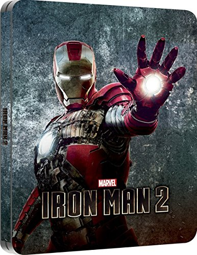 Iron Man 2 (Blu-Ray)(Zavvi - Iron Man Steelbook