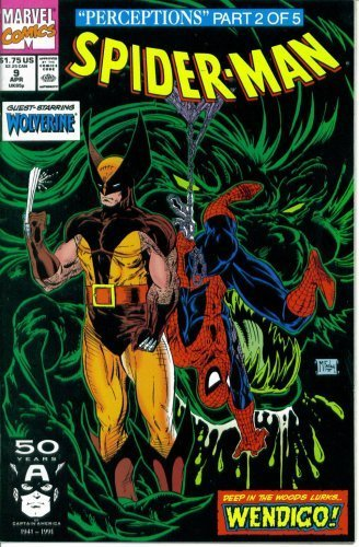 Spider Man Magazine - Spider-Man #9 : Guest Starring Wolverine in