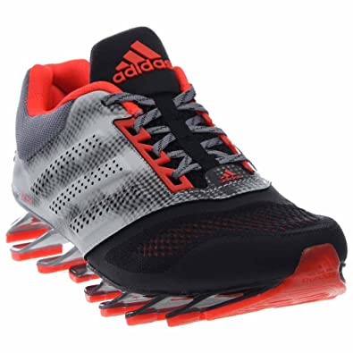 new arrival 45785 a8a95 Adidas Springblade Drive 2.0 Mens Running Shoe 7 Black-solar Red-silver Met