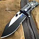 "Best Led Knives - NEW!!! 8"" Military Tactical Rescue LED Light Folding Review"