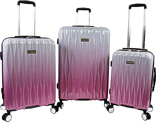 Juicy Couture Women's Lindsay 3-Piece Hardside Spinner Luggage Set