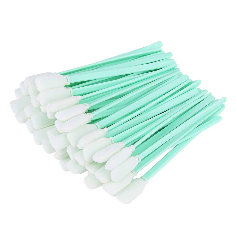 Craft Foam Tip Cleaning Sponge Swab Stick Dyeing Painting & Polishing Tool, 50PCS/packed Hilitand