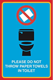Do Not Throw Trash In The Toilet Royalty