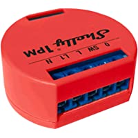 Shelly 1 PM WiFi-relaisschakelaar met wattmeter voor het regelen van de elektrische schakeling, maximaal vermogen 3,5 kW…