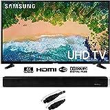"""Samsung UN50NU6900 50"""" NU6900 Smart 4K UHD TV (2018) with Sound Bar Bundle"""
