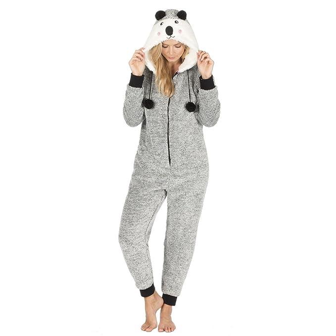 Onzie - Pijama de una pieza - para mujer gris Coala