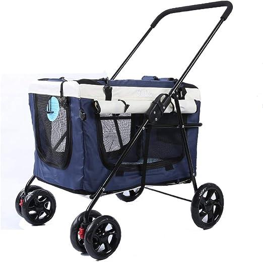 PawHut® Transportin de Viaje cochecito perros mascotas