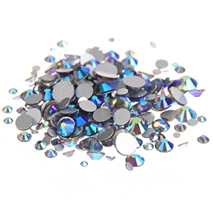 Image Unavailable. Image not available for. Color  Nizi Jewelry Crystal  Rhinestones Strass Glass Gems For Nail Art Decorations ss3-ss30 ... 4e9ccb4d94ca