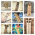 Wooden Bookmark - Book Quotes, Harry Potter, Unicorn, Cat, owl etc