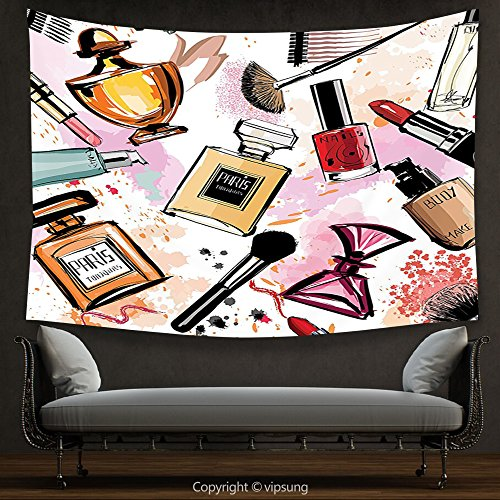 House Decor Tapestry Girls Fashion Decor Cosmetic and Make Up